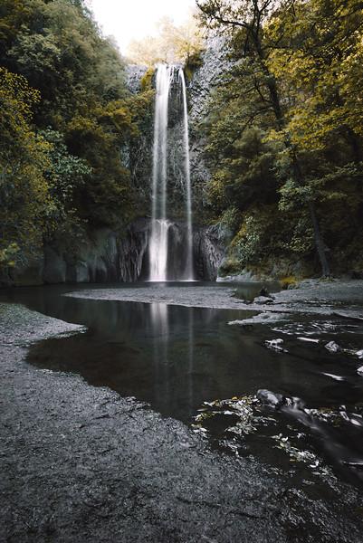 Castel Giuliano waterfall, Lazio, Italy