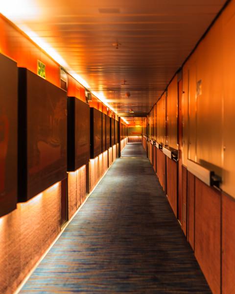 Hallway of Ship Art
