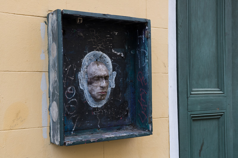 Death Mask on the Wall
