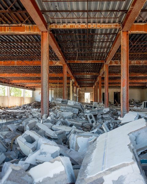 Rubble in the Hall