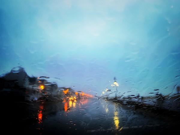 Rainy Beach Day