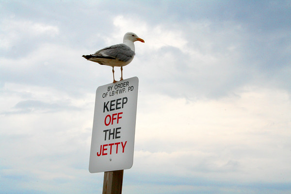 Keep Off the Jetty