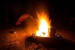 Blazing Camp Fire