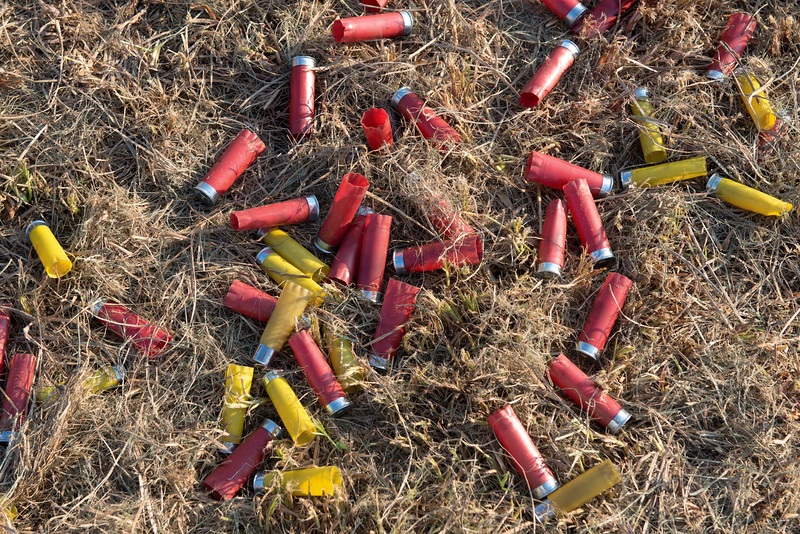 Pile of Spent Shotgun Shells 2
