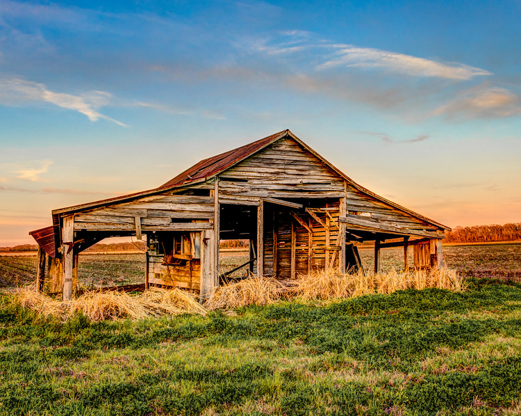 Once Used Barn