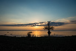 Sunset of Lake Fausse Pointe 1