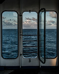 Three Portholes to the Sea