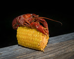 Crawfish Atop Corn Cob, 3