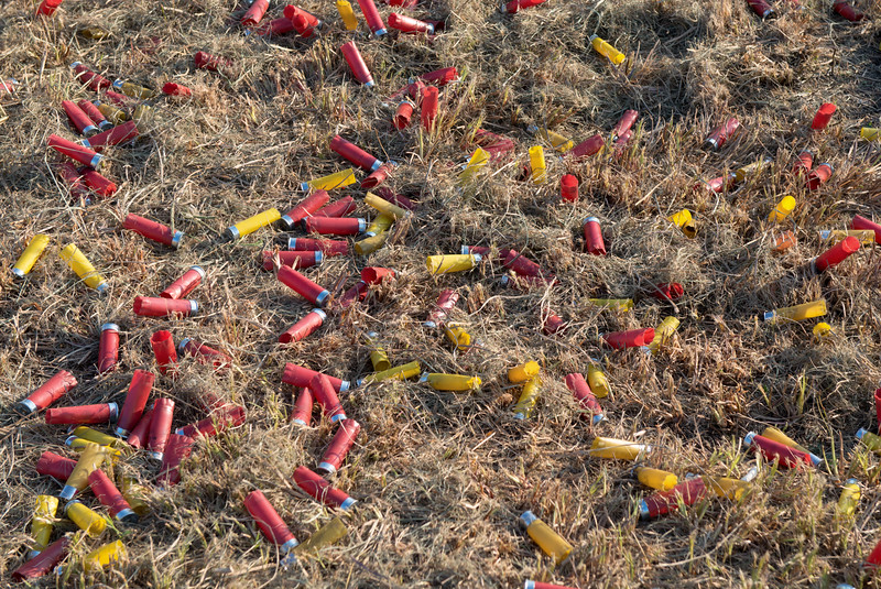 Pile of Spent Shotgun Shells 3