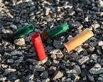 Shotgun Shells In Gravel