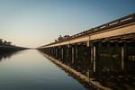 Twin Bridges at Golden Hour