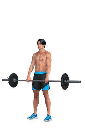 Barbell Near Waist Level