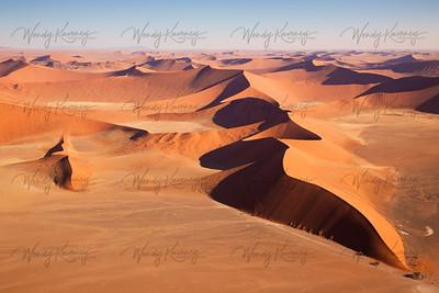 Dune Aerial- Namib-Naukluft National Park, Namibia
