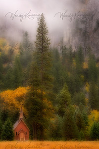 Chapel in the Valley- Yosemite National Park