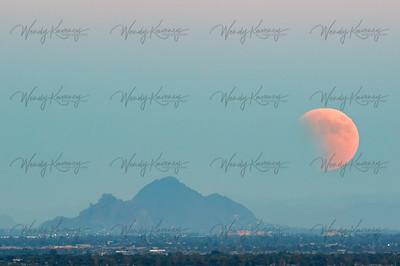Supermoon Eclipse- Phoenix, AZ