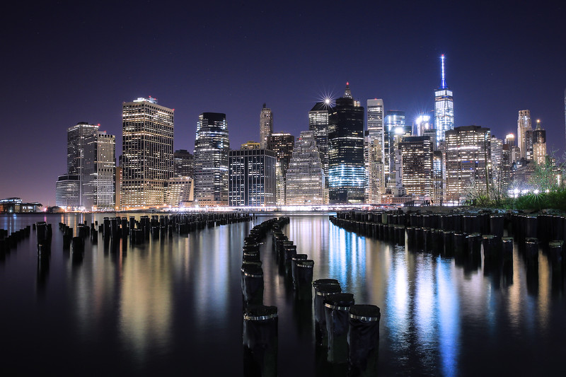 View on the Financial District of New York City!