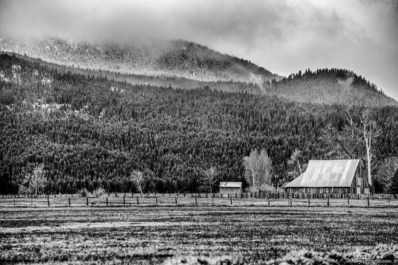 Old Farm in Oregon
