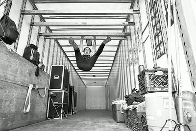 Telle Smith Backstage at Warped Tour in Auburn, WA