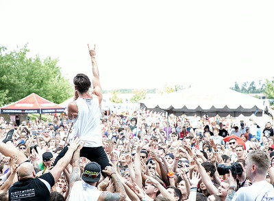 Telle Smith at Warped Tour in St Louis, MO
