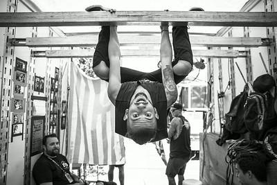 Daniel Shapiro Backstage at Warped Tour in Holmdel, NJ