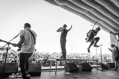 Tony Pizzuti, Telle Smith, & Daniel Shapiro at Warped Tour in Phoenix, AZ