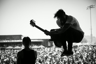 Tony Pizzuti & Telle Smith at Warped Tour in Phoenix, AZ