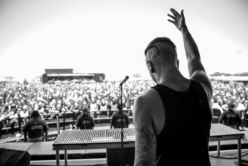 Telle Smith at Warped Tour in Phoenix, AZ