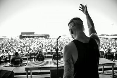 Telle Smith at Warped Tour in Phoenix, AZ