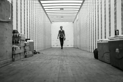 Telle Smith Backstage at Warped Tour in Phoenix, AZ