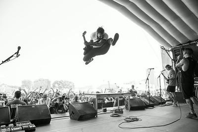 Tony Pizzuti at Warped Tour in Shakopee, MN