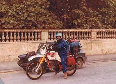 Livorno maggio 1984. Di ritorno dalla svezia e danimarca.