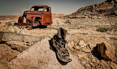 Abandoned Boot