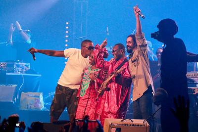Nas, Amadou & Mariam, Damian Marley / Zenith, Paris, 2010