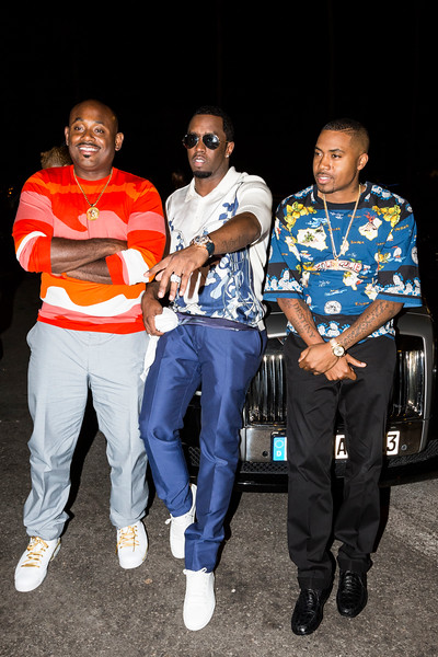 Steve Stoute, Puff Daddy & Nas / Cannes, France, 2013