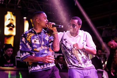 Nas & Puff Daddy / Cannes, France, 2013