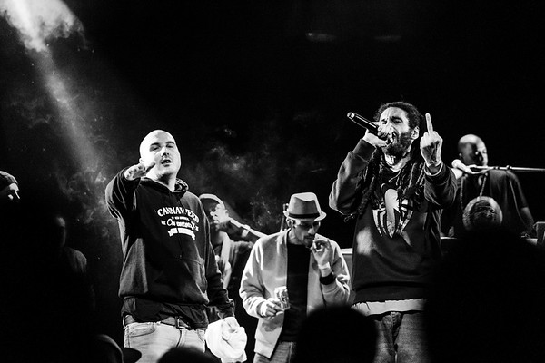 Gaïden & Sheryo / Hip Hop Momo Party / La Clef, Saint Germain-en-Laye, France, 2017