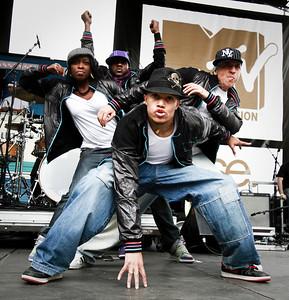 Hip Hop Dancers / MTV Skate Ton Booty / Bercy, Paris, 2010