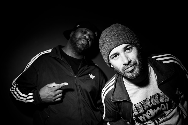 Cyanure (ATK) & Kohndo / Hip Hop Momo Party / La Clef, Saint Germain-en-Laye, France, 2017