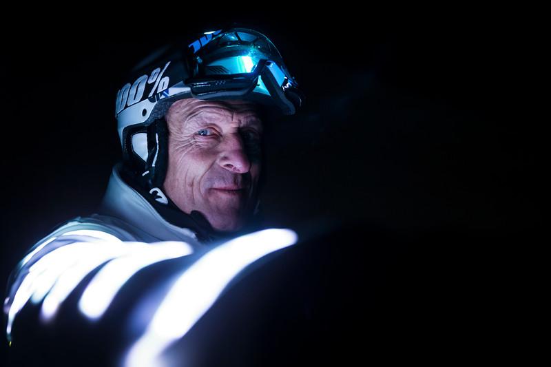 Eric Barone / World Speed Recordman by Bike, Cinema Stunter / Vars, France, 2015