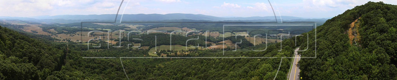 "A view looking north from Big Walker Mountain in Southwestern Virginia, USA. Approximate location:  37° 2'44.68""N,  81°13'41.60""W (Australfoto/Douglas Engle)"