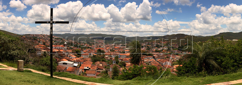 "A view of Mariana in the state of in Minas Gerais. Approximate location:   20°23'0.24""S, 43°25'7.43""W (Australfoto/Douglas Engle)"