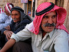 Men wearing the tradidional shimakh relax on a curbside in Maalula, a small town about 50 kilometers (30 miles) from Damascus, Syria.(Australfoto/Douglas Engle)