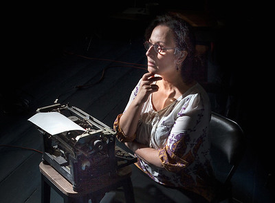 "Jeri Lynn Cohen in ""The Office"" by Alice Munro, Photo credit:  Mark Leialoha"