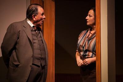 "L-R, Paul Finocchiaro, Jeri Lynn Cohen in ""The Office"" by Alice MunroPhoto credit:  Mark Leialoha"