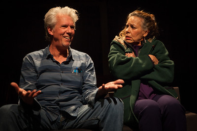 "L-R, Howard Swain, Sheila Balter in ""Dolly"" by Alice MunroPhoto credit:  Mark Leialoha"