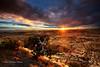 Sunburst on the Escalante