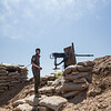 Shingali southwestern front line, Iraq