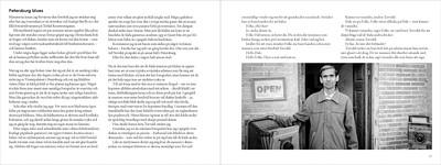 Återbesök novell VI – Petersburg Blues – helt uppslag, liten bild för web