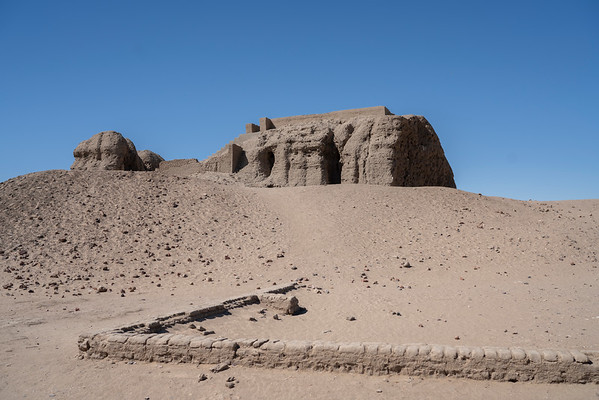 The great Western Defuffa, the religious and political center of ancient Kerma.