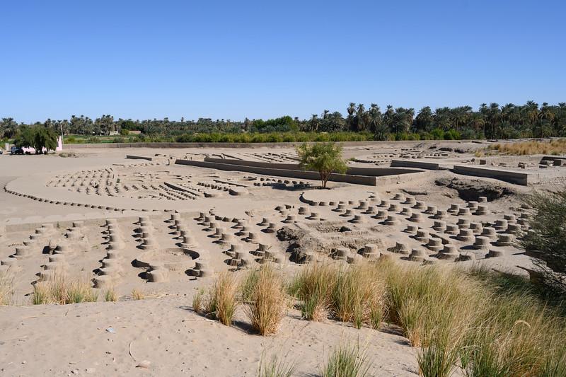 The excavation site of Dukki Gel just north of Kerma
